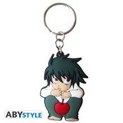 Death Note - L - Character PVC Keyring