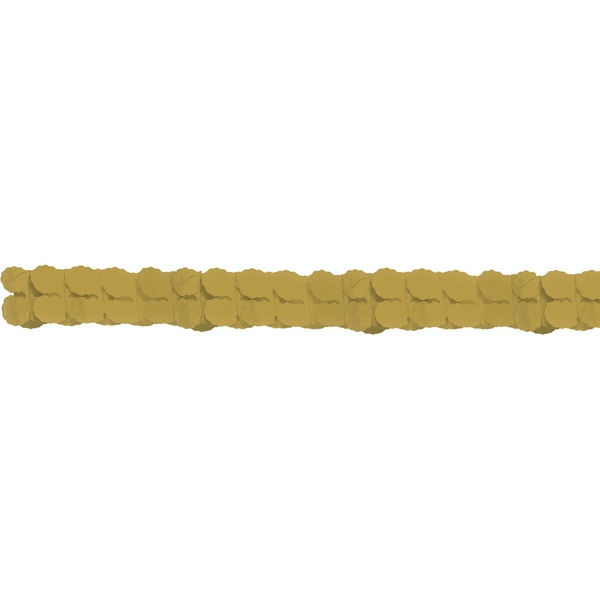Amscan Paper Garlands (Gold)