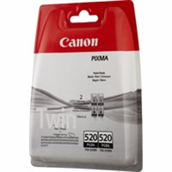 Canon 2932B012 (520 PGBK) Ink cartridge black, 324 pages, 19ml, Pack qty 2