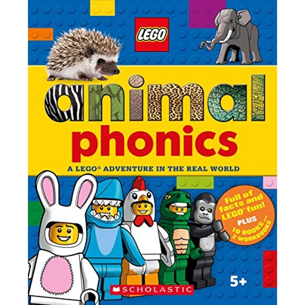 Animals Phonics Box Set (LEGO Nonfiction) A LEGO Adventure in the Real World Quantity pack 2018