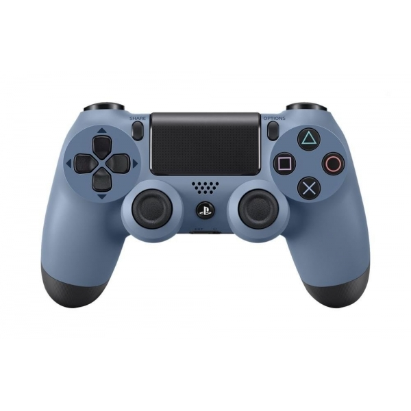 Grey Blue Edition Dualshock 4 PS4 Controller - 365games.co.uk