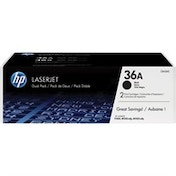 HP CB436AD (36A) Toner black, 2K pages, Pack qty 2
