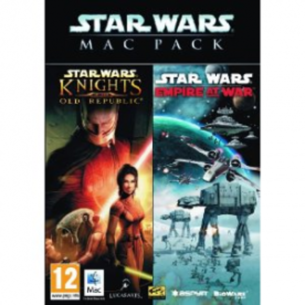 Star Wars Mac Pack Includes Knights Of The Old Republic & Empire At War Game MAC