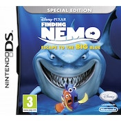 Finding Nemo Escape To The Big Blue Game DS
