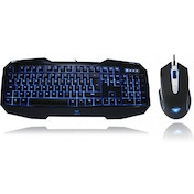 Aula Killing The Shadow Black 3 Colour Keyboard & 7 Colour Mouse Gaming Combo