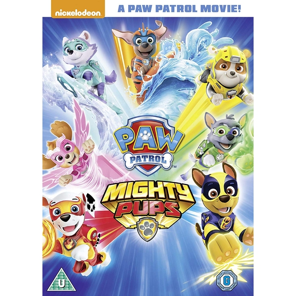 Paw Patrol: Mighty Pups DVD