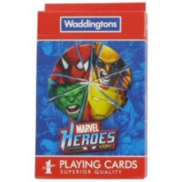 Marvel Heroes Playing Cards - Image 1