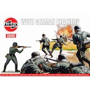 Airfix WIWII German Infantry Vintage Classics Figures 1:32 Scale Model Kit