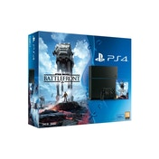 PlayStation 4 (500GB) Black Console with Star Wars Battlefront