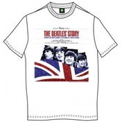 The Beatles The Beatles Story Mens Wht T Shirt: X Large