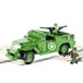 Cobi Small Army World War II M3 Scout Car - 330 Toy Building Bricks - Image 2