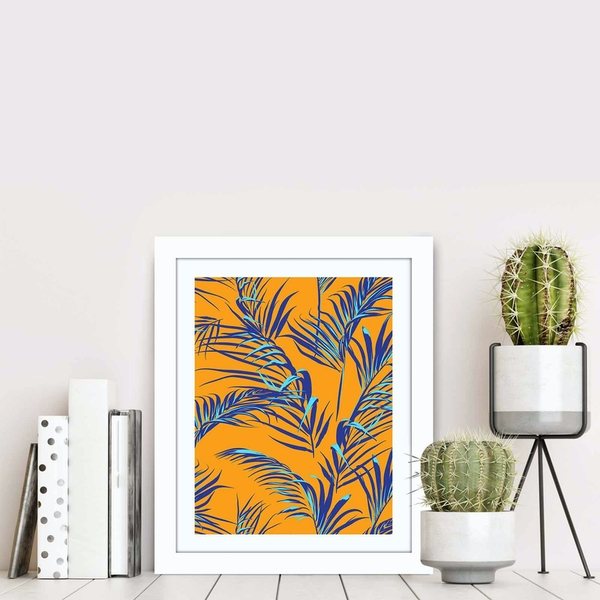 BCT-025 Multicolor Decorative Framed MDF Painting