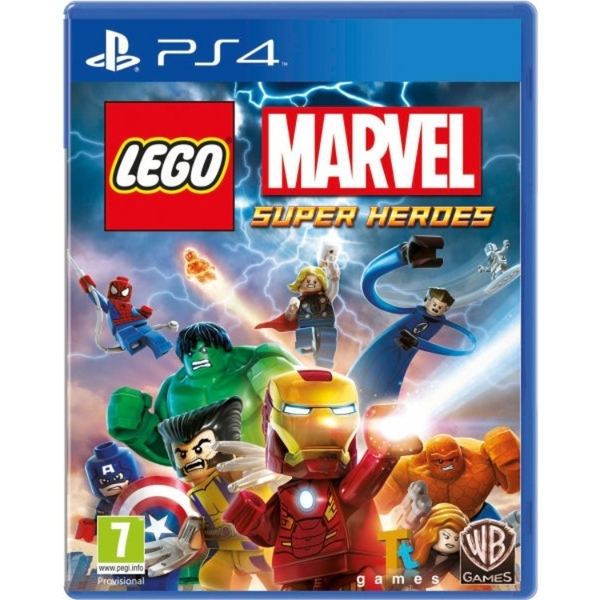Lego Marvel Super Heroes Game PS4 - Image 1