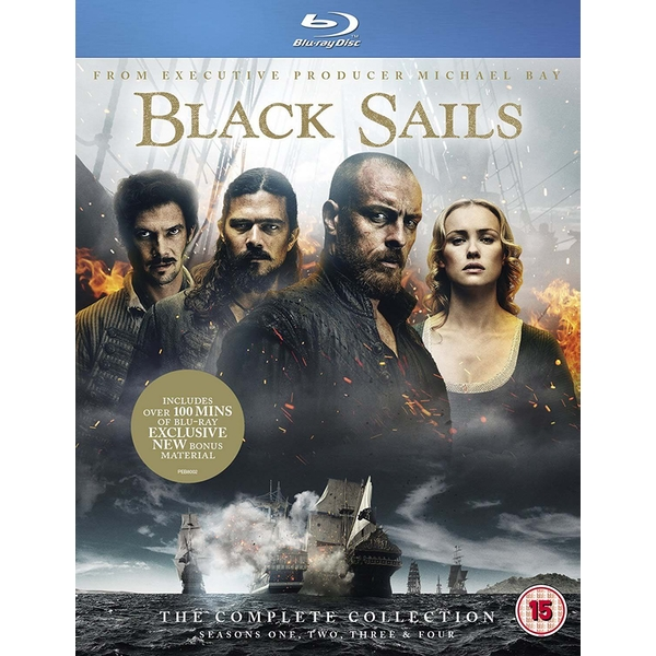 Black Sails: The Complete Collection Blu-ray