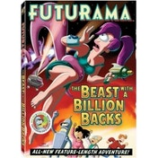 Futurama - The Beast With A Billion Backs DVD