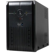 Powercool 850VA Smart UPS, 510W, LED Display, 2 x UK Plug, 2 x RJ45, USB