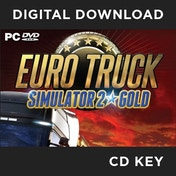 Euro Truck Simulator 2 Gold Edition PC CD Key Download for Steam