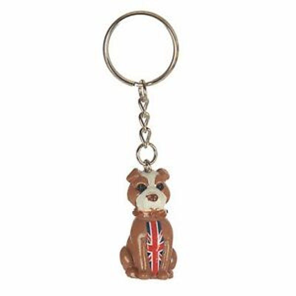 London Bulldog Keyring