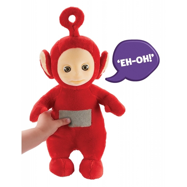 Teletubbies Talking Po Red Soft Toy