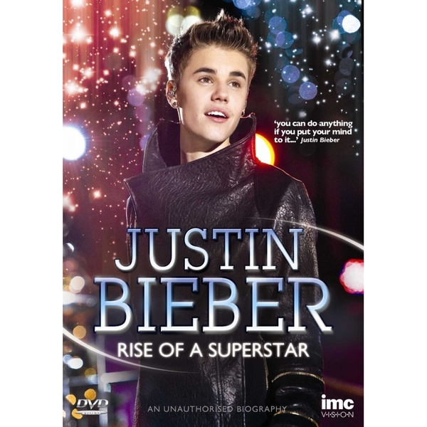 Justin Bieber - Rise of a Superstar DVD