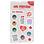 One Direction 1D Sticker Pack 50 pack CDU