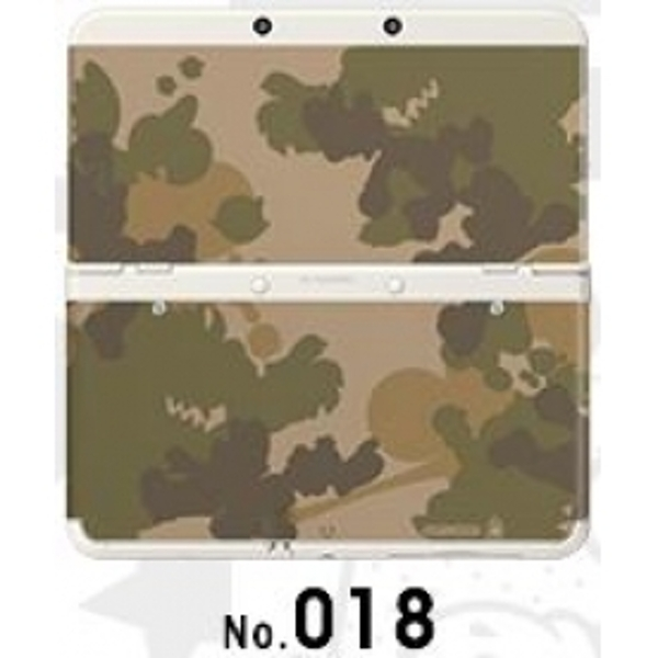 New Nintendo 3DS Cover Plates No 018 Camo Faceplate