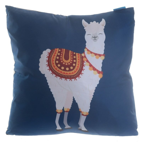 Alpaca Design Cushion with Insert
