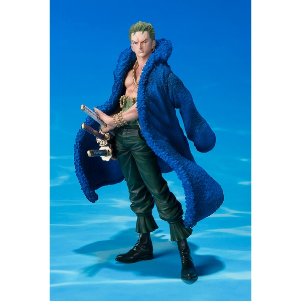 Zoro 20th anniversary (One Piece Pirates) Bandai Tamashii Nations Figuarts Zero Figure - Image 1