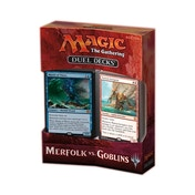 Magic the Gathering TCG: Duel Decks - Merfolk vs Goblins
