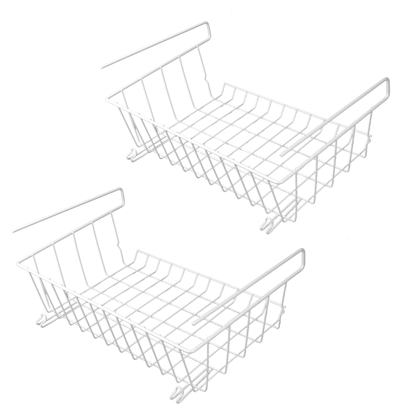 Set of 2 Under Shelf Storage Baskets | M&W