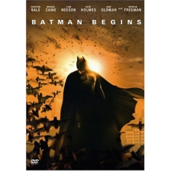Batman Begins 2 Disc Edition DVD