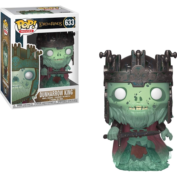 Dunharrow King (The Lord of the Rings) Funko Pop! Vinyl Figure #633