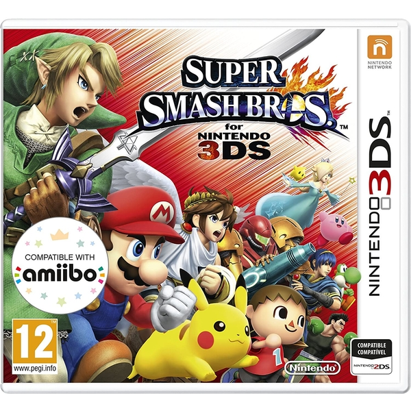 Super Smash Bros Game 3DS - Image 1