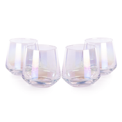 Iridescent Tumbler Glasses - Set of 4 | M&W