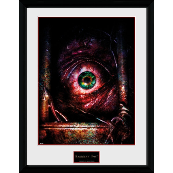 Resident Evil Eye Collector Print - Image 1