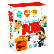 Hop / Despicable Me / Dr. Seuss' The Lorax DVD