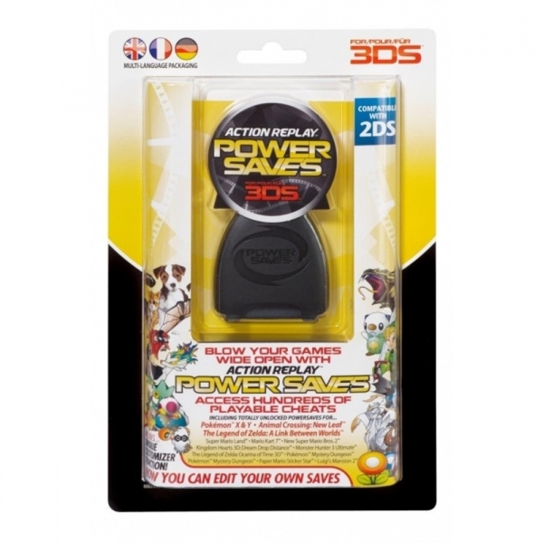 (Damaged Packaging) Datel Action Replay Powersaves (Nintendo 2DS / 3DS XL /  3DS)