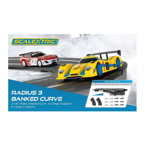 Banked Curve R3 45° Scalextric Accessory Pack