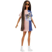Barbie Fashionista Doll Two Tone Fashion Dress
