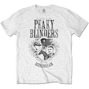 Peaky Blinders - Horse & Cart Men's X-Large T-Shirt - White
