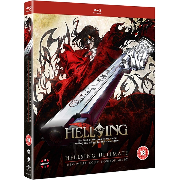 Hellsing Ultimate - Complete Collection (Volume 1-10) Blu-ray