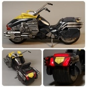Lawmaster Motorcycle (Judge Dredd) 1:12 Scale Vehicle
