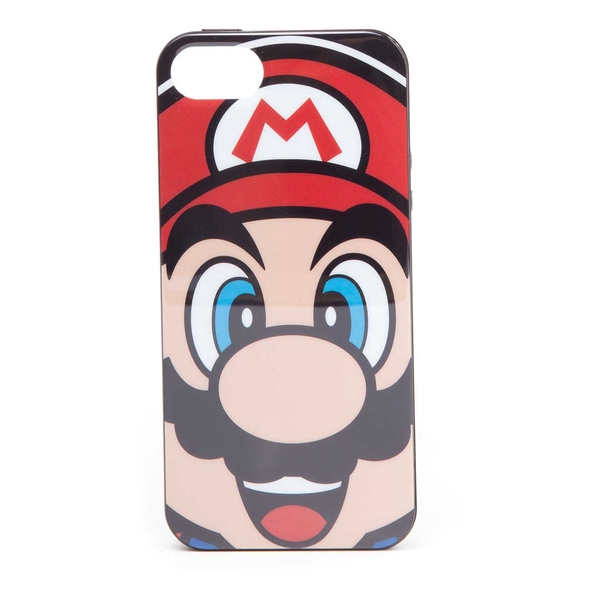Nintendo - Mario Face Apple Iphone 5/5S Phone Cover
