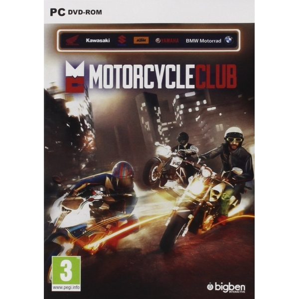 Motorcycle Club PC Game
