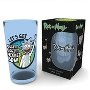 Rick and Morty Wrecked Premium Large Glass