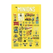 Despicable Me (infographic) Maxi Poster