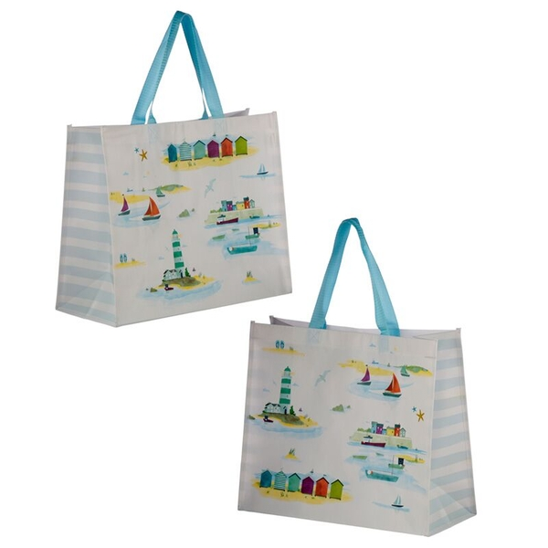 Seaside and Beach Design Durable Reusable Shopping Bag