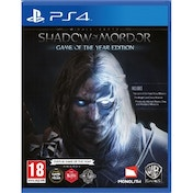 Ex-Display Middle-Earth Shadow of Mordor Game Of The Year (GOTY) PS4 Game Used - Like New