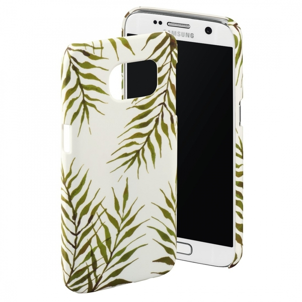 Hama Fern Leaves Cover for Samsung Galaxy S7, yellow, Limited Edition
