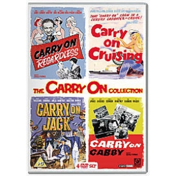 Carry On Collection Volume 2 DVD